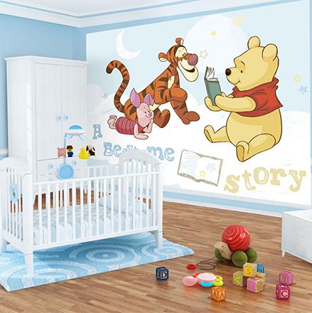 Babykamer fotobehang