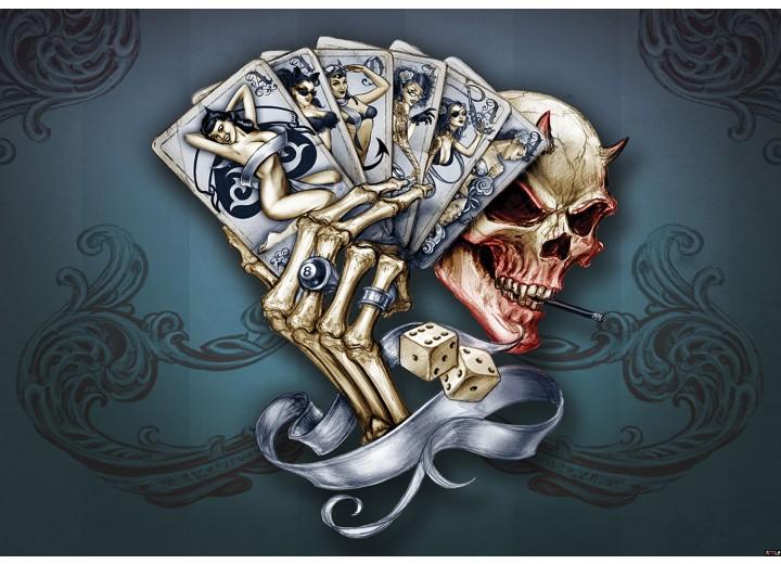 Fotobehang Vlies | Alchemy Gothic | Grijs | 254x184cm