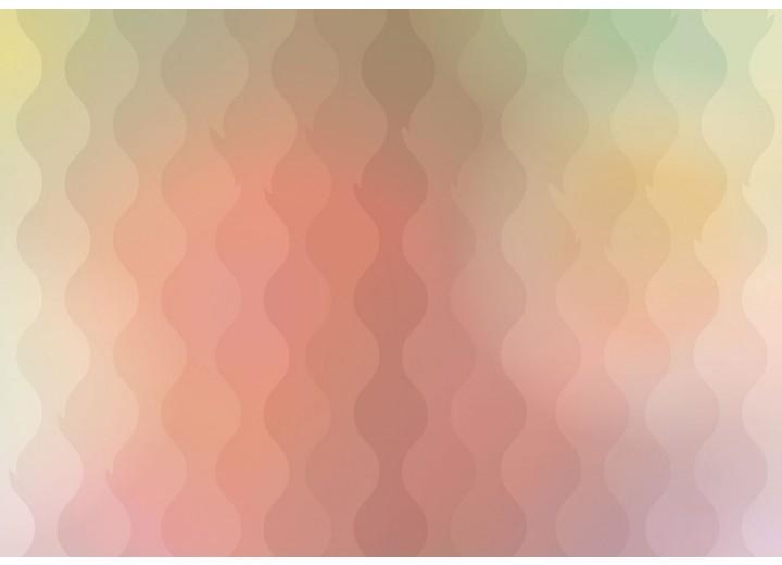Fotobehang Vlies | Abstract | Geel, Roze | 254x184cm