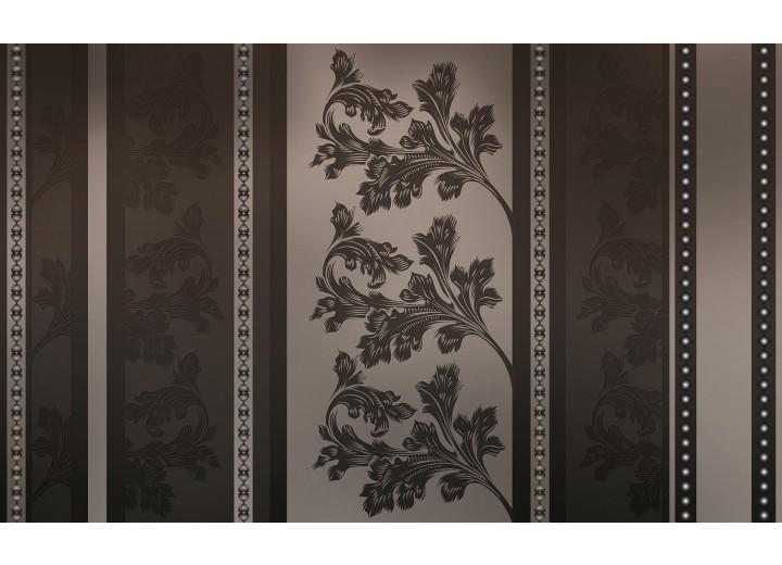 Fotobehang Vlies | Bloemen | Zwart, Grijs | 254x184cm