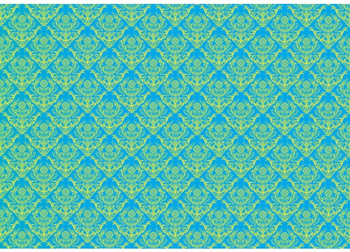 Fotobehang Vlies   Klassiek   Blauw   254x184cm