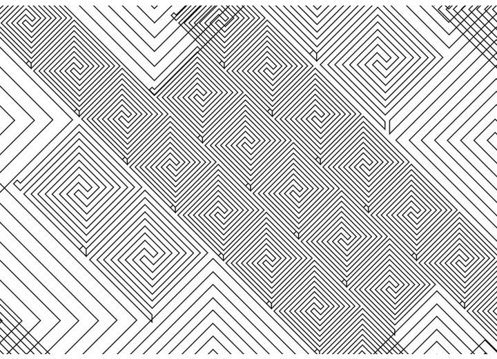 Fotobehang Vlies | Abstract | Wit, Grijs | 254x184cm