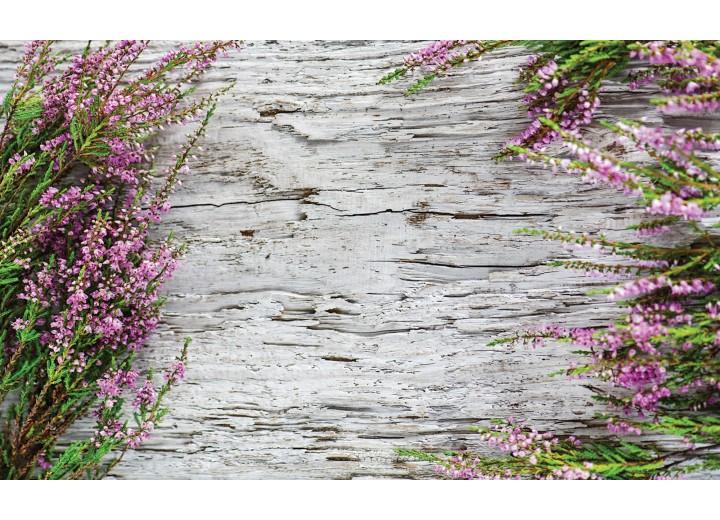 Fotobehang Vlies | Hout, Landelijk | Grijs | 254x184cm
