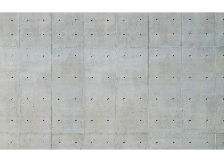 Fotobehang Vlies | Betonlook | Grijs | 254x184cm
