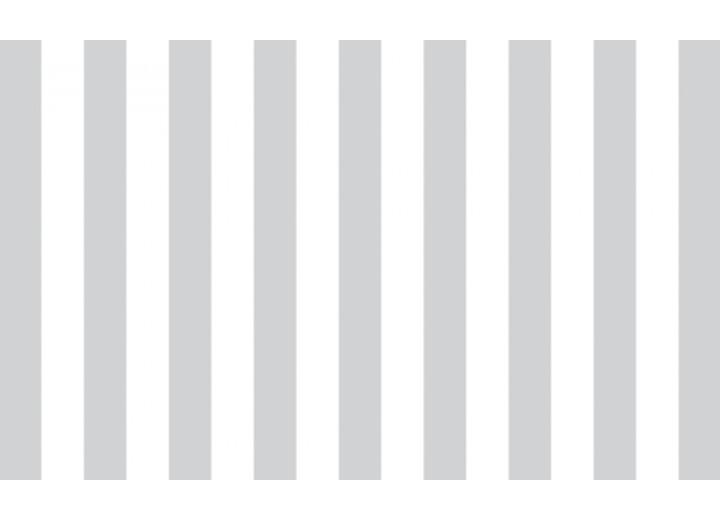 Fotobehang Vlies | Strepen | Grijs, Wit | 254x184cm