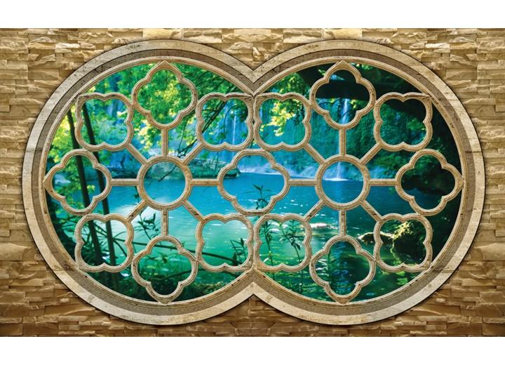 Fotobehang Vlies   Natuur, Slaapkamer   Blauw   254x184cm