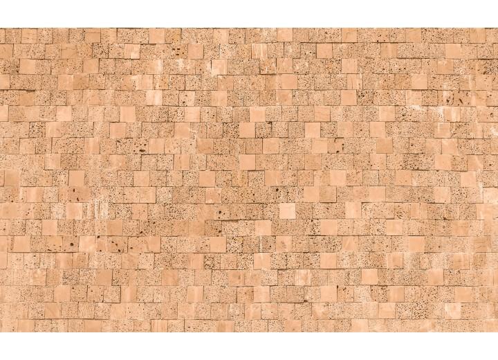 Fotobehang Vlies | Stenen, Muur | Crème | 254x184cm