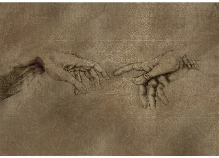 Fotobehang Vlies   Michael Angelo, Kunst   Sepia   254x184cm