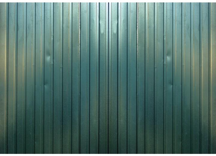 Fotobehang Vlies | Metaallook, Industrieel | Groen | 254x184cm