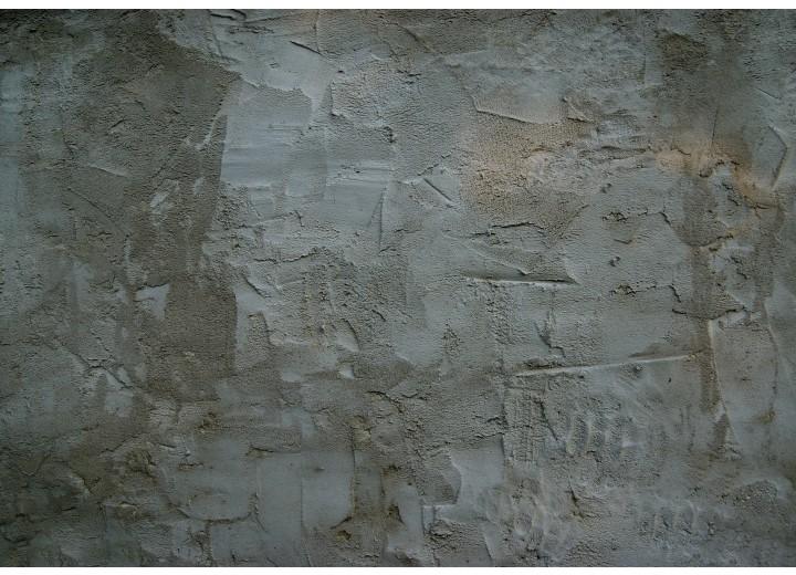 Fotobehang Vlies | Industrieel, Muur | Grijs | 254x184cm