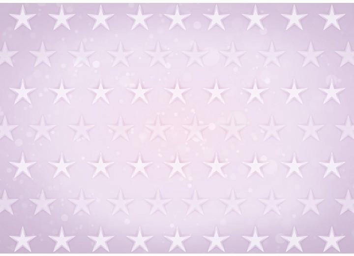 Fotobehang Vlies | Sterren | Roze, Paars | 254x184cm