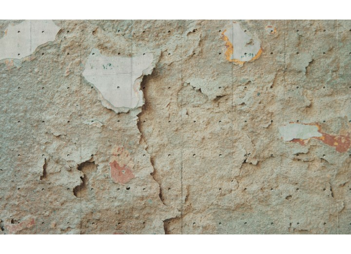 Fotobehang Vlies | Industrieel, Muur | Crème | 254x184cm