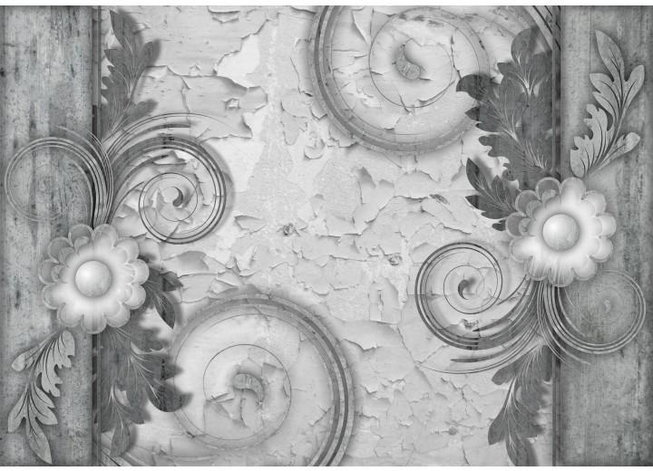 Fotobehang Vlies | Modern | Grijs | 254x184cm