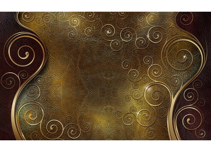 Fotobehang Vlies | Klassiek | Bruin, Goud | 254x184cm