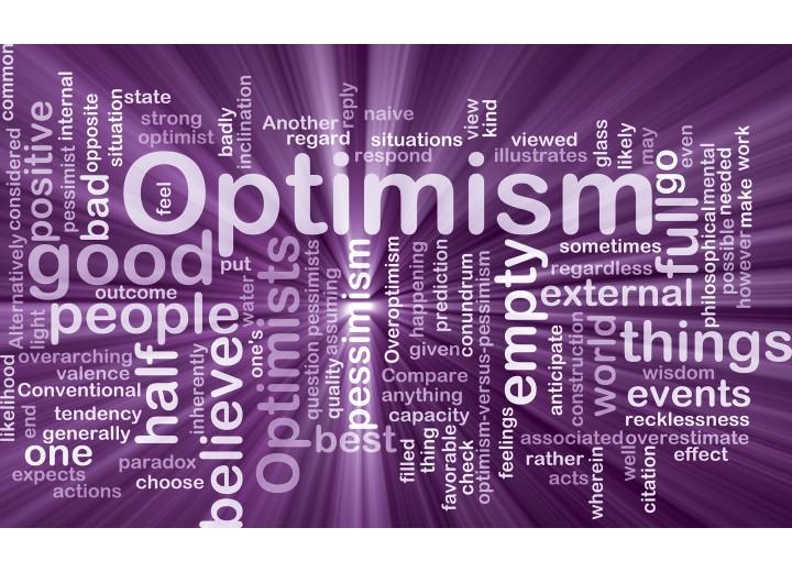 Fotobehang Vlies | Tekst, Optimisme | Paars | 254x184cm