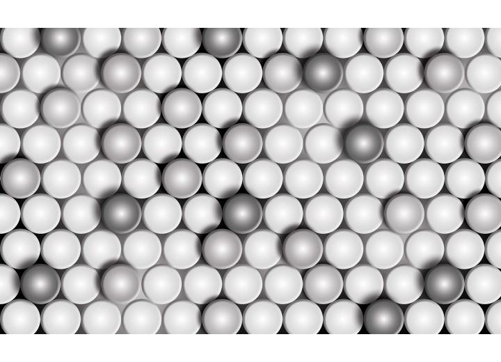 Fotobehang Vlies   3D, Modern   Grijs   254x184cm
