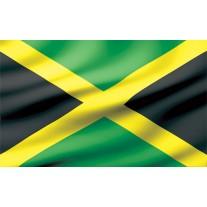 Fotobehang Papier Vlag   Zwart, Groen   368x254cm