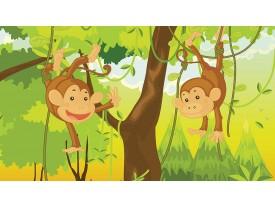 Fotobehang Jungle | Groen, Bruin | 312x219cm