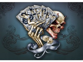 Fotobehang Alchemy Gothic | Grijs | 312x219cm