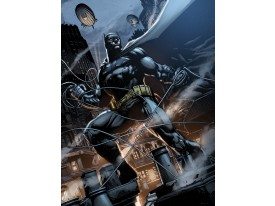 Fotobehang Papier Batman | Zwart | 184x254cm