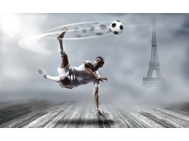 Fotobehang Voetbal | Grijs | 104x70,5cm