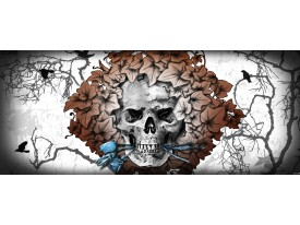 Fotobehang Alchemy Gothic | Bruin | 250x104cm