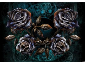 Fotobehang Alchemy Gothic | Zwart | 104x70,5cm