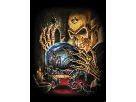 Fotobehang Alchemy, Gothic | Bruin | 206x275cm