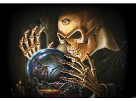 Fotobehang Alchemy Gothic | Bruin | 416x254