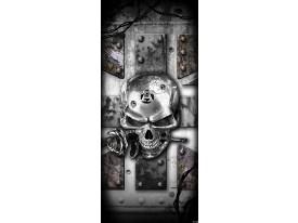 Fotobehang Alchemy Gothic | Grijs | 91x211cm