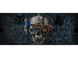 Fotobehang Alchemy Gothic | Roze | 250x104cm