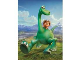 Fotobehang Papier The Good Dinosaur | Groen | 184x254cm