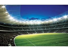 Fotobehang Voetbalveld | Groen | 152,5x104cm