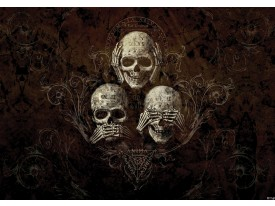 Fotobehang Papier Alchemy Gothic | Bruin | 368x254cm