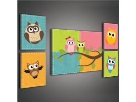 Kinderkamer schilderij S14 | 115 | PS1813S14
