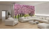 Fotobehang Vlies | Bomen | Groen | 254x184cm