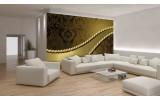 Fotobehang Vlies | Modern | Gouden | 254x184cm