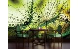 Fotobehang Vlies | Bloemen | Groen | 254x184cm