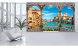 Fotobehang Vlies | Stad, Venetië | Blauw | 254x184cm