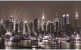 Fotobehang Vlies   New York   Grijs   254x184cm