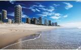 Fotobehang Vlies | Strand | Blauw | 254x184cm