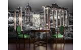 Fotobehang Vlies | Rome, Stad | Grijs | 254x184cm