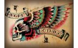 Fotobehang Vlies | Alchemy Gothic | Rood | 254x184cm