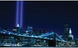 Fotobehang Vlies | New York | Blauw | 254x184cm