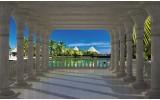 Fotobehang Vlies   Natuur   Blauw   254x184cm