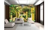 Fotobehang Vlies   Natuur   Geel, Groen   254x184cm