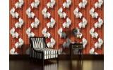 Fotobehang Vlies | Bloemen, Orchidee | Oranje | 254x184cm
