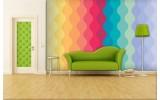 Fotobehang Vlies | Abstract | Geel,Oranje | 254x184cm