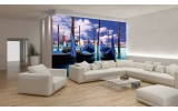Fotobehang Vlies | Venetië, Stad | Blauw, Groen | 254x184cm