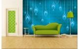 Fotobehang Vlies | Abstract | Blauw | 254x184cm